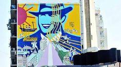 """""""Mi Buenos Aires querido"""", mural de Carlos Páez Vilaró"""