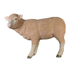 Merino Ewe Life-Size Standing Lamb Statue. Merino Sheep are noted as having some of the exquisite and supple wool of any sheep. From English Victorian estates to George Washington's Mount Vernon, wealthy landowners of the 18th and 19th centuries had sheep grazing on their expansive lawns to signify their wealth and status. #merinosheep #sheep #statue