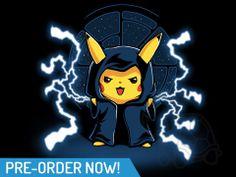 Emporer Palpachu! TeeTurtle's electrifying new sci-fi shirt.
