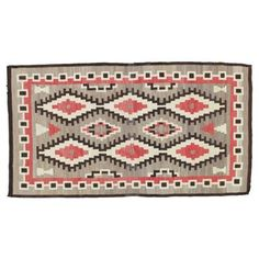 "Check out this item at One Kings Lane! Antique Navajo Rug, 4'8"" x 8'6"""