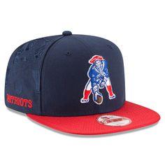 dabfb9ce90f Men s New England Patriots New Era Navy Sideline Classic 9FIFTY Snapback  Adjustable Hat