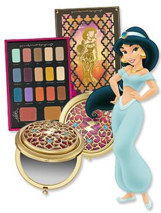 Sephora Jasmine Disney collection - want this so much! (she was my favourite princess)