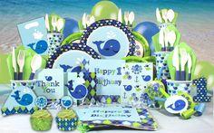 first birthday boy ocean preppy festive box