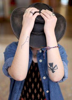 Thunderbird tattoo