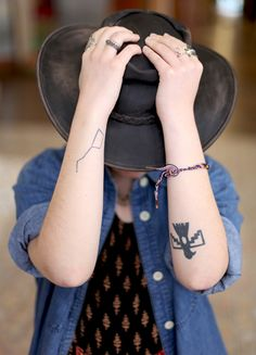 tattoo inspiration http://blog.freepeople.com/2013/02/tattoo-inspiration-office-2/