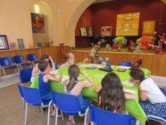 Un atelier d'écriture avec des enfants