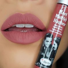 Meet Matt(e) Hughes liquid matte lipstick in the shade Charming.
