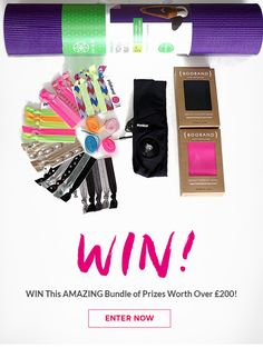 Check out this amazing giveaway to win a bundle of prizes worth £200!