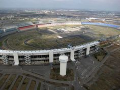 Charlotte Motor Speedway.  Site of my first live NASCAR race and where I did a Richard Petty Ride Along.