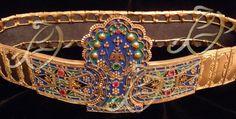 ΘΡΑΚΙΩΤΙΚΟ ΑΣΗΜΟΖΟΥΝΑΡΟ Greek Traditional Dress, Greek Fashion, Greek Jewelry, Wedding Belts, Historical Clothing, Greece, Jewelery, Folk, History