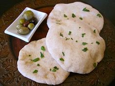 Wow! Homemade pita was surprisingly easy and tasty! I will never again buy those disgusting pre packaged ones again!