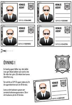 Vill du bjuda in till barnkalas med spion och agent kalas tema? Då har vi ett helt perfekt kit för dig här.  Roligaste spionkalaset med Spionskolan!  Escape game: Spionskolan 7-9 år. #escapegame #grapevine #barnkalas #agentkalas #spionkalas #kalas
