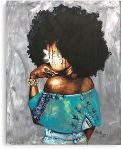 """Excellent """"buy art artworks"""" detail is available on our site. Check it out and you wont be sorry you did. Black Love Art, Black Girl Art, Art Girl, African American Art, African Art, Black Art Pictures, Natural Hair Art, Black Artwork, Afro Art"""