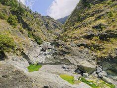 Ideal para hacer senderismo: la Caldera de Taburiente en la isla de las Palmas de Gran Canaria.