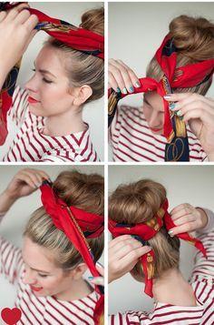 Trend Alarmı: Bandanaları Başınızın Tacı Yapacak 17 Bağlama Yöntemi