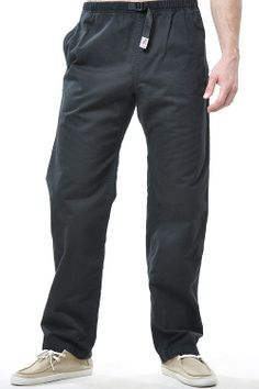 Gramicci ORIGINAL G PANT - Phantom Grey and Black, Size medium - These are awesome pants for rock climbing and doing yoga.