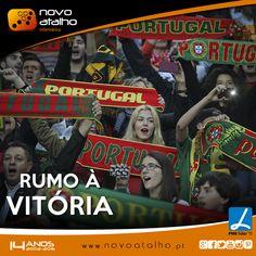 Hoje estamos juntos rumo à vitória!   Não somos 11 somos 11 milhões (y)  Deixa-nos o teu palpite para o jogo de hoje!  #novoatalho #portugal #euro2016 #pt #naosomos11somos11milhoes