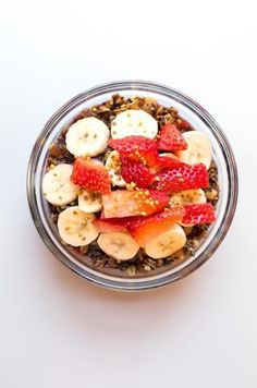 Strawberry acai bowl from Dimes on the LES!