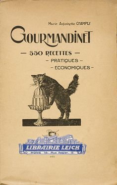 Gourmandinet, M.A.Champly 1921 | Flickr - Photo Sharing!