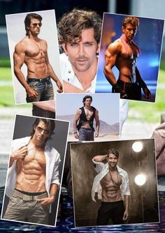 Muscle Boy, Best Kisses, Male Torso, Sexy Men, Hot Men, My Gym, Most Handsome Men, Hrithik Roshan, Bollywood Actors