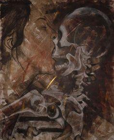 """Vanité, vanitas"" by Virginie Caillet, 2007 #contemporary #painting"