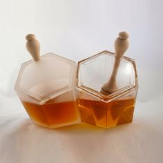 Clear + Frosted Hive Set 2 Pack by Biodidactic | Fab.com