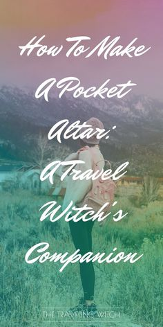 How To Make A Pocket Altar: A Travel Witch's Companion // Witchcraft // Magic Wiccan Altar, Wicca Witchcraft, Green Witchcraft, Wiccan Witch, Witch Alter, What Is Spirituality, Gypsy Witch, Eclectic Witch, White Witch