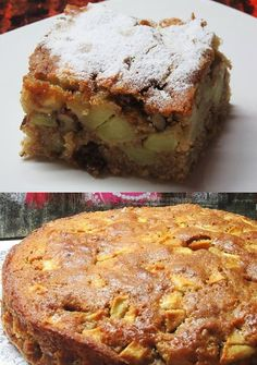 Bhg Recipes, Apple Pie Recipes, Greek Recipes, Fruit Recipes, Cake Recipes, Dessert Recipes, Greek Sweets, Greek Desserts, Apple Desserts