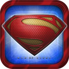 """Superman Dinner Plate (includes 8 pcs of 9"""" paper plates in a pack)"""