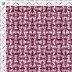draft image: Figurierte Muster Pl. XXXIII Nr. 4, Die färbige Gewebemusterung, Franz Donat, 8S, 8T