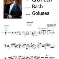 SONATA NO. 1 IN G MINOR, BWV 1001 - 2. FUGA (ALLEGRO) BY BACH/GOLUSES by SecondaPrattica.org on SoundCloud G Minor, Musica