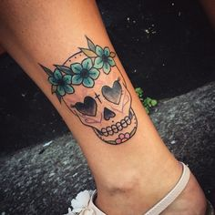 Candy Skull Tattoo Designs