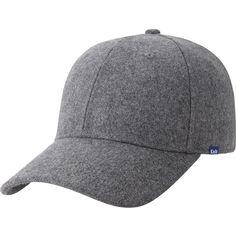 5.Cap Baseball gris oscuro