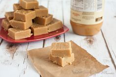 This creamy and delicious 5 ingredient peanut butter fudge recipe takes about 5 minutes on the stove to make! The hardest part is waiting for it to cool. Your family will love it this holiday season! Fudge Recipes, Candy Recipes, Holiday Recipes, Cookie Recipes, Sweet Recipes, Dessert Recipes, Dessert Ideas, Christmas Baking, Christmas Desserts