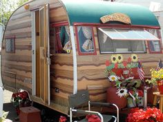 Girl Camping: Vintage Trailers, Ready To Party!