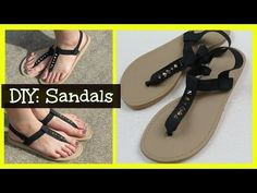 How to attach flip flop soles to crochet sandals to make them into street shoes! Yes, you can, and it's easy! Watch this video to find out how!! Get the slip...