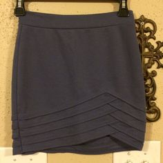 Silence + Noise Blue Bandage Skirt Silence + Noise from Urban Outfitters Blue Bandage Skirt, Size XS. This skirt has only been worn a few times and is in great condition. Urban Outfitters Skirts