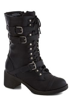 Scenic Thrive Boot in Jet Black, #ModCloth
