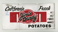 Jims Dandy potatoes