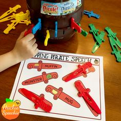 It's All Fun and Games Until.... Articulation Therapy, Articulation Activities, Speech Activities, Speech Pathology, Speech Therapy Activities, Speech Language Pathology, Language Activities, Speech And Language, Shape Activities