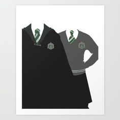 This minimalist poster so they're never really out of uniform.