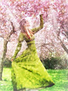 Ostara Between the blossoms by *Ithilyen on deviantART