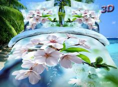 polyester design printed color bedding set for wedding Bed Covers, Duvet Cover Sets, Down Comforter Bedding, Hotel Collection Bedding, Floral Bedding, Peach Blossoms, Luxury Bedding Sets, Bed Sheets, Fancy