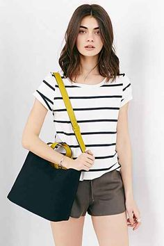 BDG Canvas Mini Tote Bag - Urban Outfitters