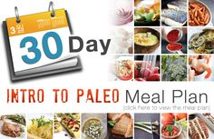 30 Day Intro to Paleo Meal Plan