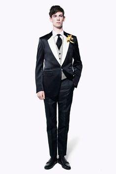 Alexander McQueen Spring 2013 Menswear