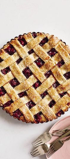 Spring Sweets: Sour-Cherry Almond Pie Recipe