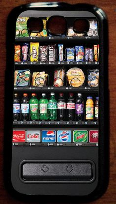 Galaxy and iPhone vending machine case Food Phone Cases, Funny Phone Cases, Phone Covers, Iphone 8 Plus, Iphone 5s, Iphone Cases, Pepsi, Coca Cola, Bff