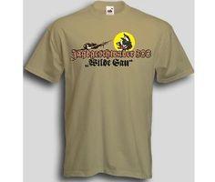 T-Shirt Jagdgeschwader 300 Wilde Sau / mehr Infos auf: www.Guntia-Militaria-Shop.de