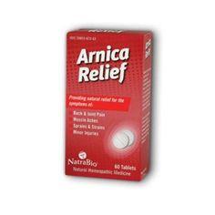 NatraBio Arnica Relief Tablets, 60 Count